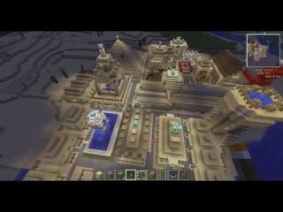 Дми в Minecraft: Экскурсия по городу (Египет,Хургада)