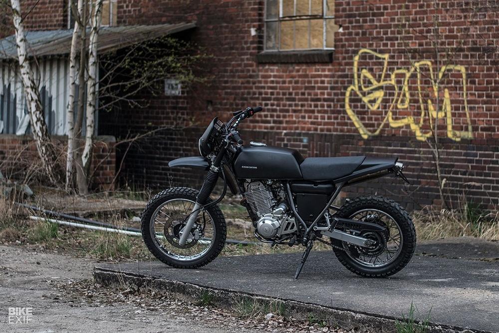Berham Customs: кастом Yamaha XT600