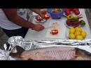 РЫБА в духовке по кавказски