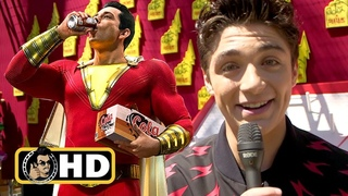 Asher Angel Exclusive SHAZAM Interview (Comic-Con 2019)