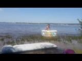 Лето солнце пляж в Жигулевске +30