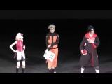 Косплей-сценка по аниме Наруто