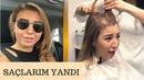 Saçımı Kazıttım Kazıtma Videosu - Sonrası - Nasıl Uzadı - Nasıl Bakım Yaptım - Gökçe Özdemir