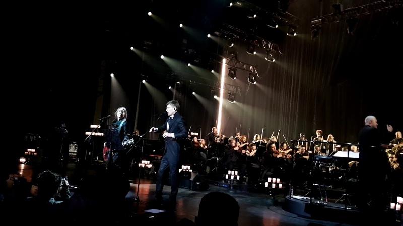 Би 2 Молитва отрывок Концерт с симфоническим оркестром 18 05 2018гг Крокус Сити холл