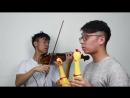 J. Strauss – The Blue Danube Waltz (Chicken Version).