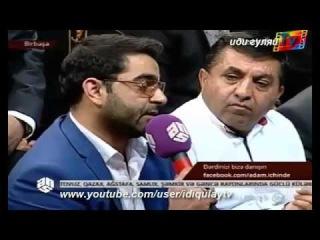 Huseyn Deryanin sesiyle danishan yaxin dostu Mahmud Baba Yeni