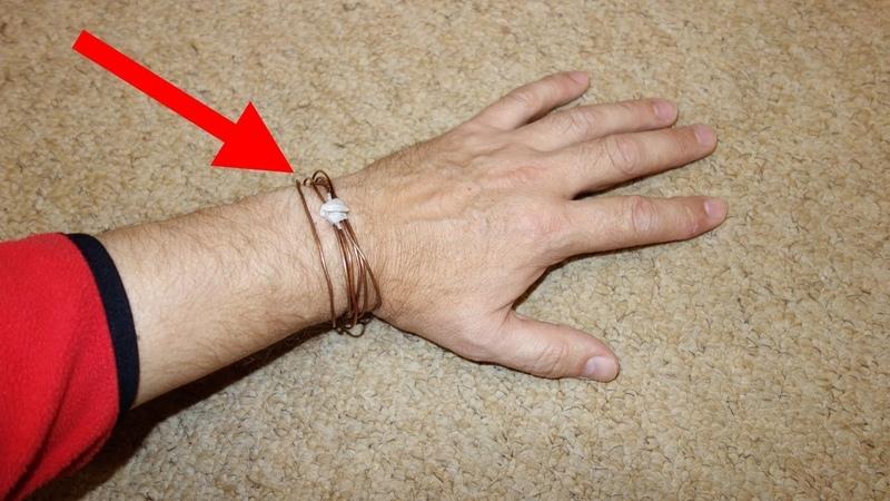 Обмотай медной проволокой шесть раз левую руку и увидишь как все изменится Лечение медью