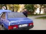 Спецназовец ГРУ расстрелял полицейского. Real video