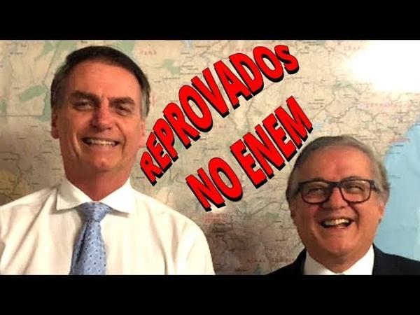Bolsonaro sequer passaria no Enem Como vai fiscalizar