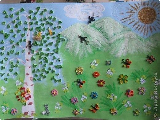 Поделки в садик на тему весна своими руками
