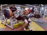 Александр Бабин - жим лежа 265 кг