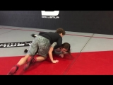 Bounce and grab low. Ben Askren