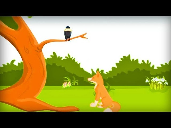 The Fox and Crow Story | Children's Nursery Fables for Kids | Classteacher Learning Systems
