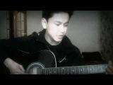 на гитаре кыргыз-сауле русская версия