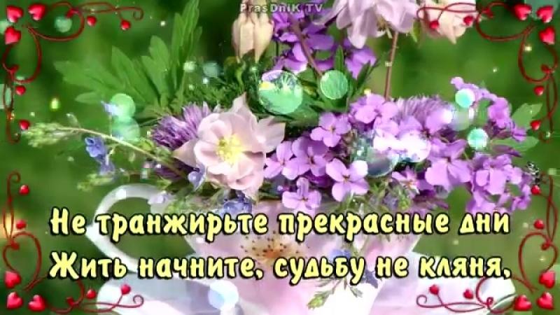 Хорошего дня Отличного настроения Пожелания родным и друзьям mp4