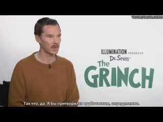 Benedict Cumberbatch Turns Into a Grinch When Hes Hangry