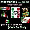 DJ Vick Ufa - Back 2 Disco 16-17 (Made In Italy)