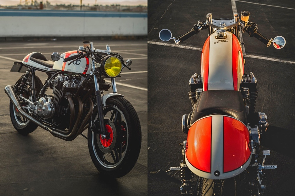 Кафе рейсер Nitrocycles Honda Bol D'or