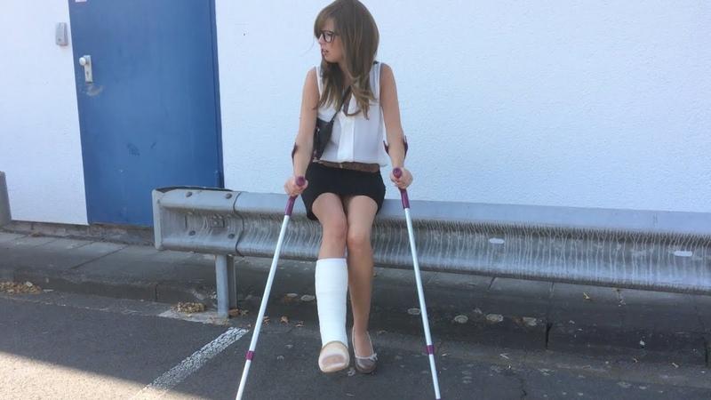 Ein schmerzvoller Tag | ALEXANDRA FOOTAGE (Unfall, Gipsbein, Schmerzen)