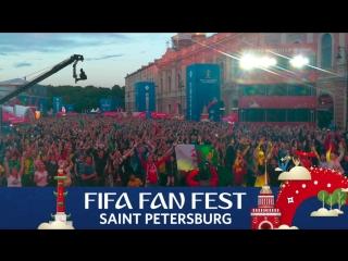 FIFA Fan Fest: «дождик» по-бразильски