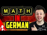 Math in German #2 | Roots, Brackets, Factorials, Functions | Learn German for Beginners | Lesson 21