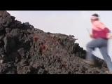 Что будет если пробежать по раскаленной лаве?