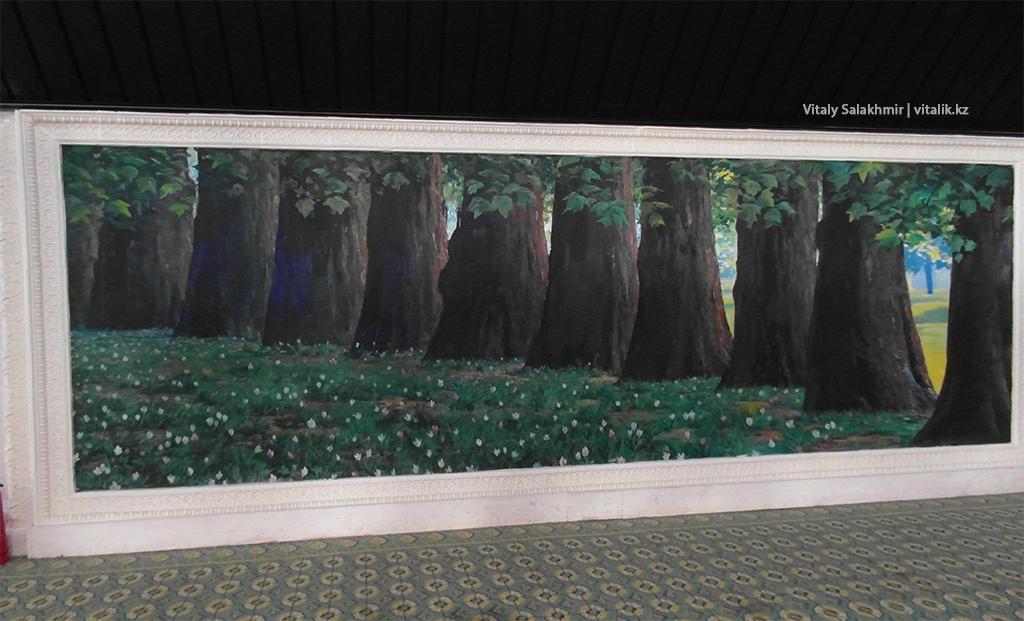 Картина с деревьями, галерея Рух Ордо