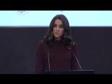 Речь Кэтрин на форуме Place2Be, 08.11.2017