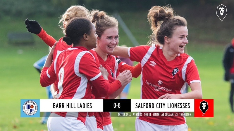Barr Hill Ladies 0-8 Salford City Lionesses - GMWFL Division 1