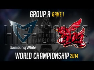 Samsung White vs Ahq e Sports Club Highlights S4 Worlds | SSW vs AHQ LoL S4 World Championship 2014