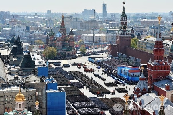 Parade in Moscow