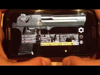 Обзор игры Weaphones на Android (Samsung GALAXY S3)