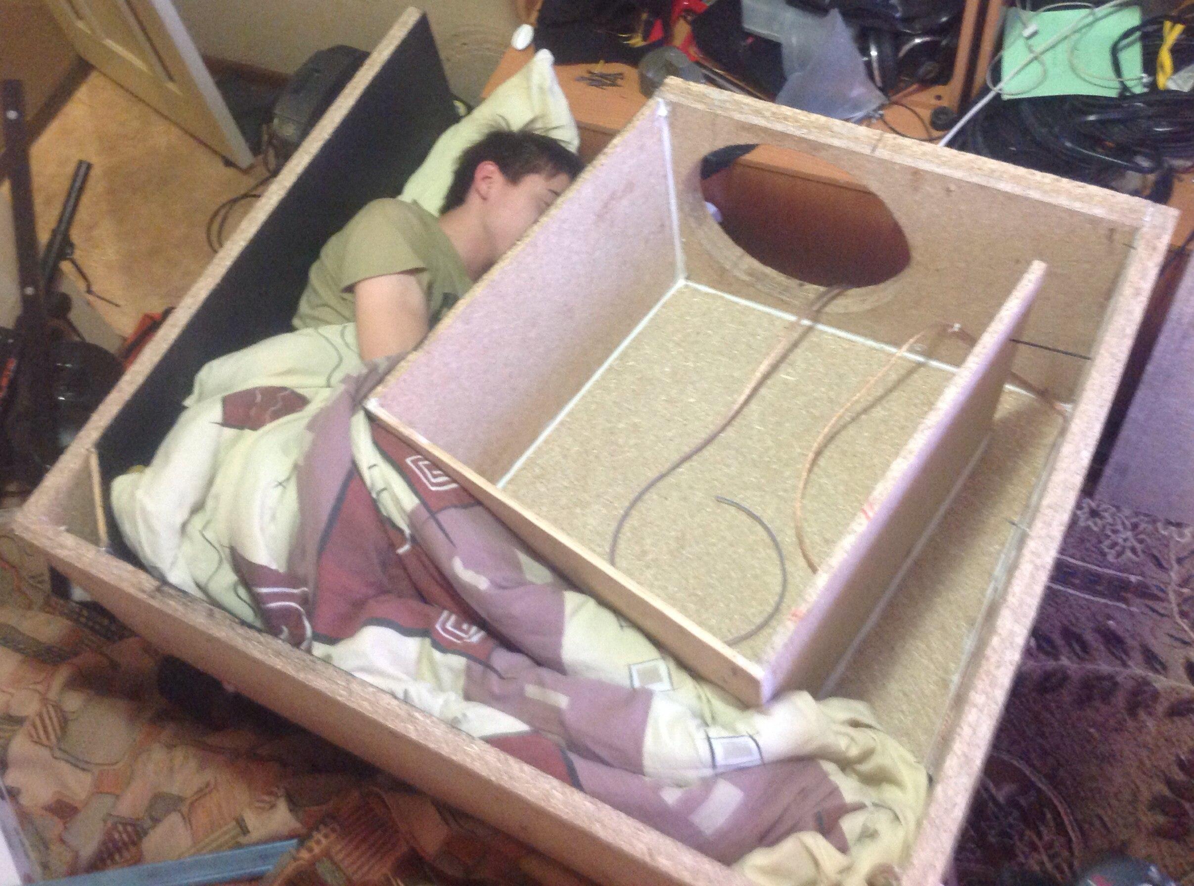 короб для сабвуфера своими руками схема под 57 литров
