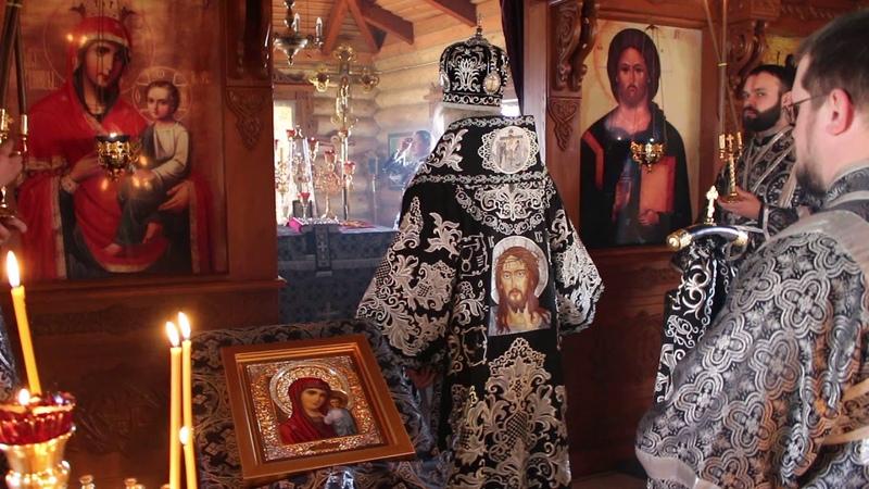Архиерейское богослужение в храме иконы Божией Матери Скоропослушница г.Чебоксары