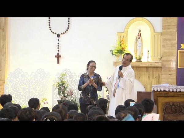 1 Cô Ngoại Đạo Ở Biên Hòa Bị Bệnh Mắt, Bệnh Viêm Phế Quản, Bệnh Tim Được Chúa Thương Xót Chữa Lành