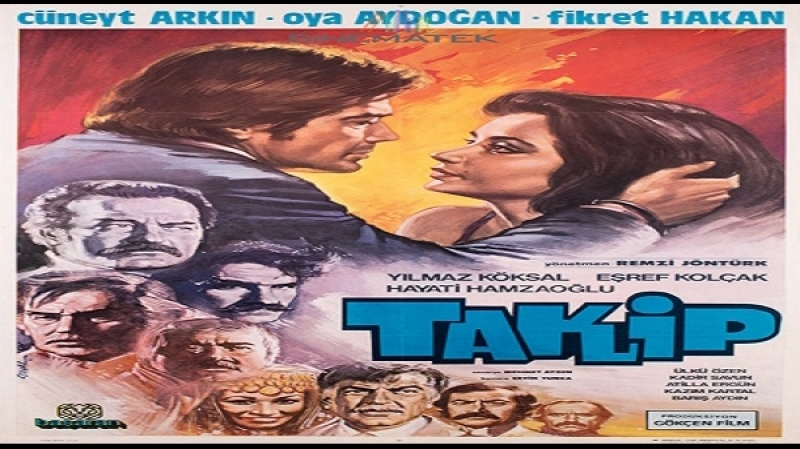 Takip Renkli -Remzi Jöntürk 1981-Cüneyt Arkın,Oya Aydoğan,Fikret Haka