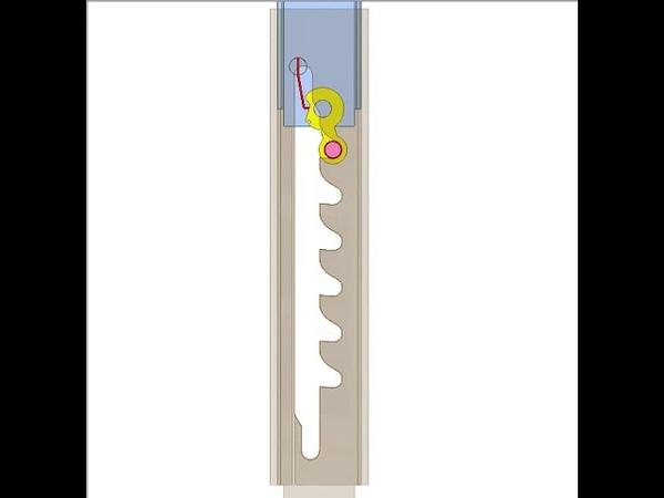 Linear ratchet mechanism 2