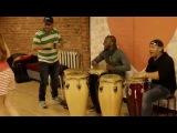 Rumba class &amp live music @ Salsa Plus Живая музыка на уроке кубинской румбы