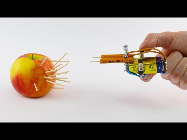 Mini Weapon Pocket Gun from Pencil