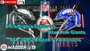 Philadelphia Eagles vs. New York Giants | NFL 2018-19 Week 6 | Predictions Madden NFL 19