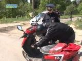 Инспекторы ГИБДД  взялись за скутеристов и велосипедистов.