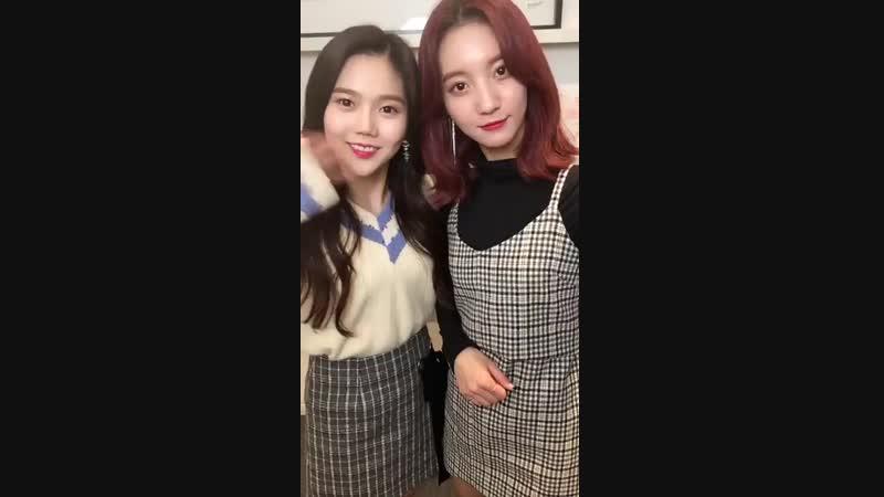 · Message · 181104 · OH MY GIRL (Binnie Hyojung) · Smart News 7DAYS K-POP ·