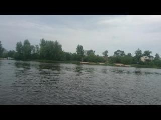 прогулка до киевского моря на каяке