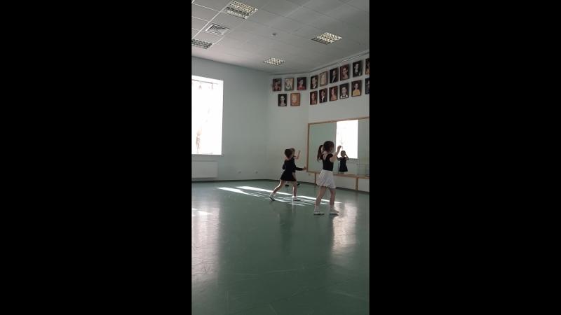 Открытый урок по бальным танцам