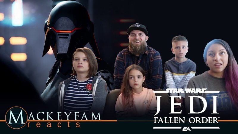 Star Wars Jedi: Fallen Order — Official Reveal Trailer- REACTION and REVIEW