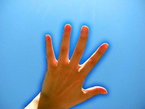 Видение эфира, эфирное поле, свечение вокруг руки