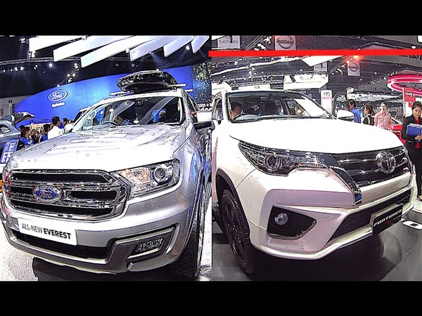 Toyota Fortuner or Ford Ranger or Ford Everest 2016, 2017 model - What to choose?