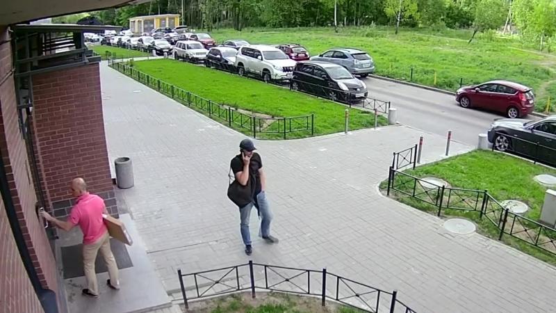 Угон автомобиля на удочку