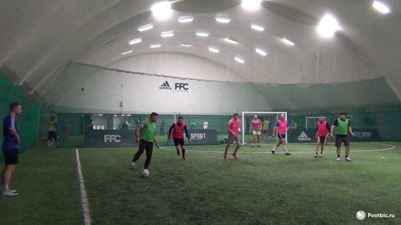 FOOTBIC.RU. Видеообзор 13.01.2019 (Метро Марьина Роща). Любительский футбол