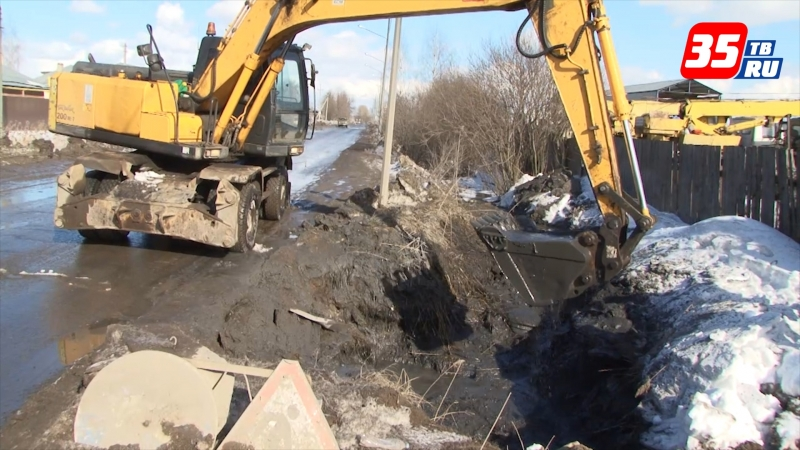 В Вологде коммунальные службы готовятся к потеплению и таянию снега